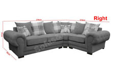 Living Room Right Hand Corner/Sectional Sofas without Custom Bundle