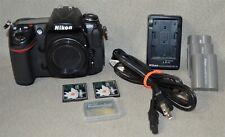 Nikon D300 Camera Body w/3 Batt & Charger