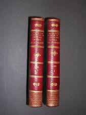 Louis XIV Anquetil Louis XIV, sa cour et le régent 1819 2 vol. Complet Reliure