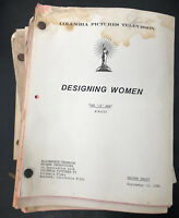 Lot of 18 DESIGNING WOMEN TV SCRIPTS DELTA BURKE - DIXIE CARTER - JEAN SMART