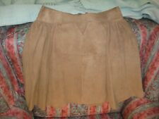 JAEGER - UNIQUE! Extremely soft suede skirt 12