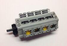 Lego Technik Technic 55 Teile V 8 Motor Set Zylinder hellgrau neue Version NEU