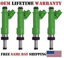 Set 4 OEM Denso Fuel Injectors 23209-39175 for Toyota Camry RAV4 2009-12 2.5L