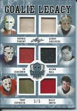 2017 Leaf Masked Men Legacy 6 Jersey PARENT CHEEVERS HALL ESPOSITO SMITH ++ 3/5