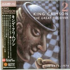 KING CRIMSON-THE GREAT DECEIVER 2-JAPAN MINI LP 2 HQCD K81