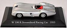 Mercedes Benz W 196 R Streamlined Racing Car 1955 silver metallic 1:43