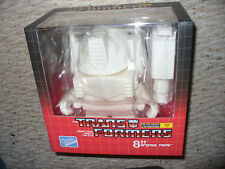 """The Transformers Loyal Subjects X Series One 8"""" Optimus Prime White - dated 2013"""