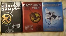 Lot 3 Hunger Games Trilogy HC/DJ by Suzanne Collins