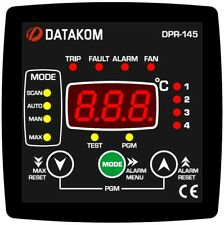 DATAKOM DPR-145 MV Transformer Temperature Protection Controller_