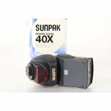 Sunpak PZ40X Power Zoom Blitz für Nikon Digitalkameras - Flash - Aufsteckblitz