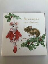 WRENDALE CHRISTMAS CARDS NOT A CREATURE WAS STIRRING