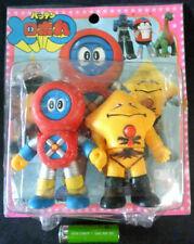 80s Popy Batten RoboMaru Vinyl set Figure Robocon DX Bullmark Chogokin