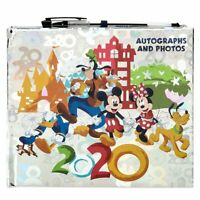 Walt Disney World Parks 2020 Silver Official Autograph Book With Pen NEW