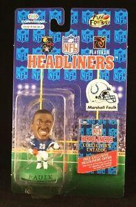 Marshall Faulk 1996 Indianapolis Colts Headliners Figure NFL NIB Corinthian NIP
