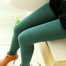 New Women Girl Stretch Warm Monolayer Leggings Slim Pants Winter Fall Pantynose