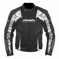 ARMR Moto Eyoshi Sports Waterproof Motorcycle Bike Jacket Thermal Black Medium M