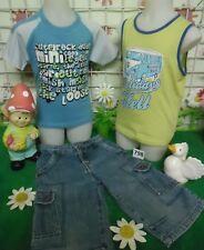 lot vêtements occasion garçon 6 ans,débardeur,tee-shirt,bermuda jean