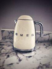 Smeg Cream 50's Retro Kettle - 3D LETTERS - Excellent condition
