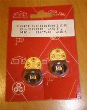 2 Stück Topfschaniere Pro Artikel Durchmesser 20 mm