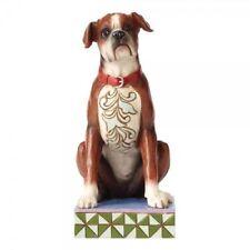 Jim Shore Heartwood Creek Bruno Boxer Dog Figurine Ornament 4056958