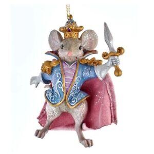 Nutcracker Suite Mouse King Christmas Ornament E0426M
