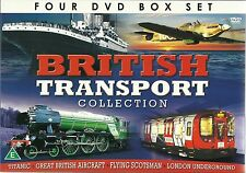 BRITISH TRANSPORT COLLECTION - 4 DVD SET, THE STORY OF LONDON UNDERGROUND & MORE