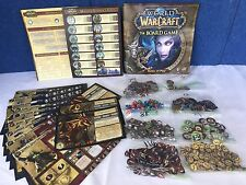 World Of Warcraft The Board Game Replacement Pieces & Manual Rules Of Play Lot