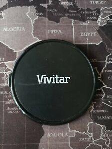 VIVITAR 72mm FRONT LENS CAP SNAP ON