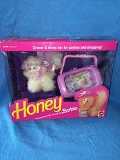 Vintage 1991 Mattel Barbie Doll Pet---Honey Kitty Cat #5470---White Fluff---*NEW