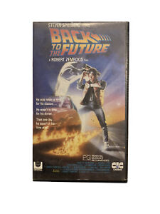 BACK TO THE FUTURE 1985 VHS - IN GOOD WORKING CONDITION Rare