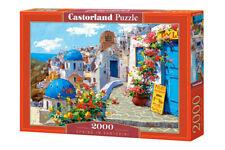 "Brand New Castorland Puzzle 2000 SPRING IN SANTORINI 36"" x 27"" C-200603"