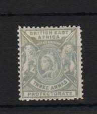 British East Africa 1896 Queen Victoria SG69 3a grey (3 annas) Mint MH CV £11
