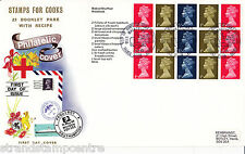 1969 Stamps For Cooks Booklet - Wessex - All 4 Panes - Milk Marketing Board H/S