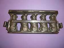 Antique Chocolate Mold Candy Mold Bunny Rabbit Easter ANTON REICHE 102 YRS OLD