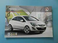 Vauxhall Corsa Brochure 2011