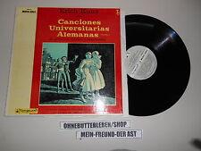 LP Folk Erich Kunz - Canciones Universitarias Alemanas (21 Song) VANGUARD
