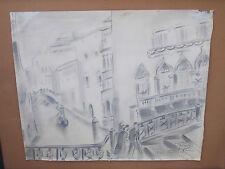 Dessin Nelly Paté Venise 1939 Grand Prix Algérie en 1946 @+
