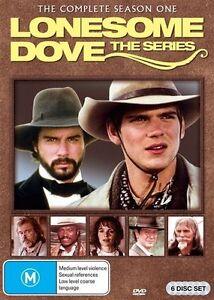 Lonesome Dove - The Series :Season 1 (DVD, 2014, 6-Disc Set) Brand New! Region 4
