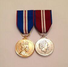 Swing Mounted Golden Jubilee Medal & Diamond Jubilee, Full Size, Army, Military