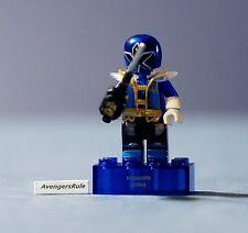 Mega Bloks Power Rangers Series 2 Translucent Blue Super Samurai Ultra Rare