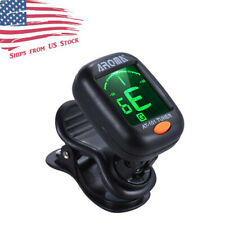 Aroma AT-101 Guitar, Bass, Violin, and Ukulele Chromatic Clip-On Digital Tuner