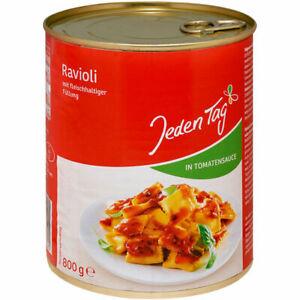 """""""Jeden Tag"""" Ravioli Tomatensauce   6x800 gr Dose"""