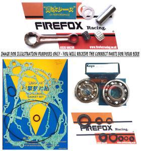 KTM125 SX 2007 - 2015 Mitaka Bottom End Rebuild Kit Rod Gaskets Bearings Seals