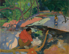 Gauguin Paul Morning Canvas 16 x 20   #2668