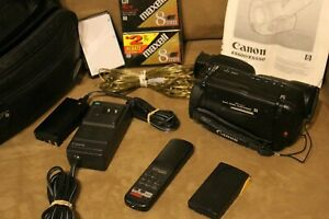 Canon ES600 8mm Video VCR Camcorder Player Video Camera Bundle  Works