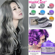 Fashion DIY Hair Color Wax Mud Dye Cream Temporary Modeling 8 Colors Hailicare