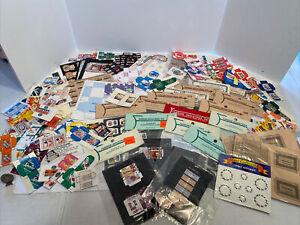 Vintage NOS KIT Craft Boxes Food Labels Etc Farrow Ind Dollhouse Miniatures 1:12