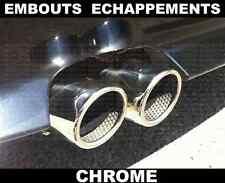 BMW Z4 E89 2009- CHROME EXHAUST TIPS TAIL PIPE MUFFLER REAR TRUNK M SDRIVE 71mm