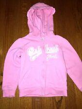 OSH KOSH B'GOSH Glitz Glamour Girl PINK Jacket Hoodie Coat Girls Toddler Sz 4T