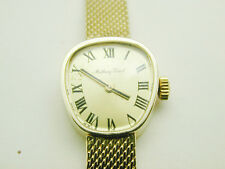 2020 Vintage Tissot Lady 14k Solid Yellow Gold Case & Band 17 Jewel Wind Watch